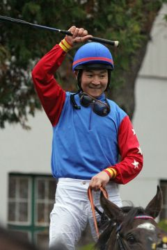 Erster Gruppe I-Sieg für Jockey Bayarsaikhan Ganbat. www.galoppfoto.de - WiebkeArt