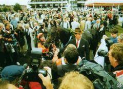 Pik König mit Albert Darboven 1992.