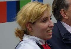 Steffi Hofer am 28.03.2010 in Düsseldorf. www.dequia.de