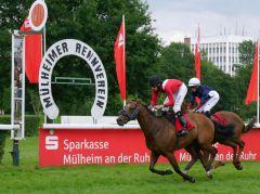Rennen in Mülheim. Foto: Karina Strübbe