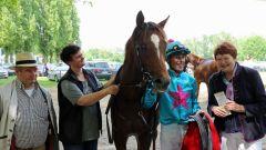 Zufriedenheit beim Siegerteam (Foto: Dr. Jens Fuchs)