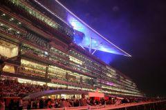 Die modernste Rennbahn der Welt: Meydan in Dubai. www.galoppfoto.de