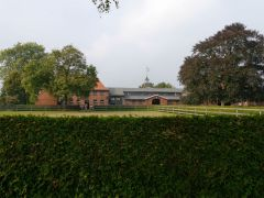 Ebbesloh - Ansicht des Gestüts. Foto: Karina Strübbe