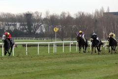 Ein souveräner Sieg mit acht Längen - The Tiger gewinnt mit Sibylle Vogt das nach ihm benannte Rennen. www.galoppfoto.de - Stephanie Gruttmann