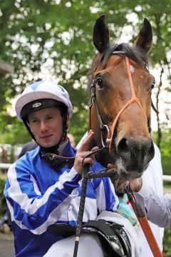 Oisin Murphy und Fox Champion. www.galoppfoto.de - Sabine Brose