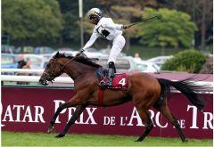 Gr. I-Triumph in Longchamp - Altano mit Eduardo Pedroza im Prix du Cadran. www.galoppfoto.de - Frank Sorge