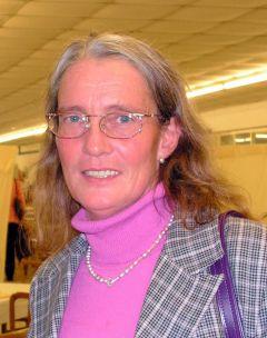 Besitzertrainerin Helga Hobitz (Foto: Suhr)