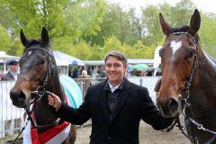 Millowitsch und El Loco mit Trainer Markus Klug (Foto: Dr. Jens Fuchs)