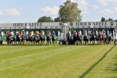 Start zum IDEE 145. Deutschen Derby. www.galoppfoto.de - Frank Sorge