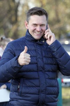 Trainer Bohumil Nedorostek 2019 in Halle. www.galoppfoto - Sabine Brose