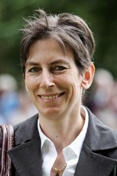Trainerin Regine Weißmeier im Portrait 2014 in Baden-Baden. www.galoppfoto.de - Sarah Bauer