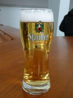 Das Bier stammt aus einer Essener Privatbrauerei. Foto Karina Strübbe