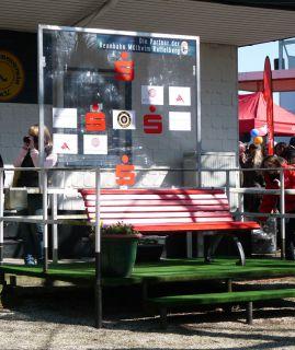 Hier finden am Raffelberg die Siegerehrungen statt. Foto Karina Strübbe